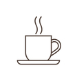 Cofee Cup Icon vector image vector image