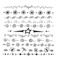 Doodles border vector image vector image