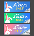 easter sale vector image