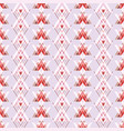 geometric red burgundy pink and white vector image
