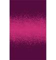 graffiti spray effect gradient element in burgundy vector image vector image
