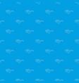 smart glasses pattern seamless blue vector image vector image