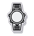 watch time isolated icon vector image