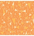 Abstract geometric chrystals seamless pattern vector image