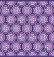 abstract seamless pattern of symmetrically vector image vector image