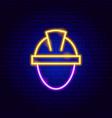 builder neon sign vector image