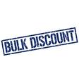 bulk discount stamp vector image vector image
