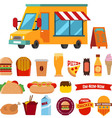 food track vector image vector image