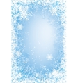 Frost frame vector image vector image