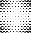 Monochrome abstract ellipse pattern background vector image vector image