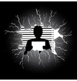 police record vector image vector image