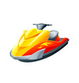 sport motorboat vector image