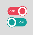 Toggle switch icon vector image vector image