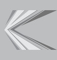 abstract gray arrow speed design modern futuristic vector image