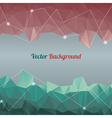 background with lines circles and shapes vector image vector image