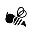 Bee icon vector image