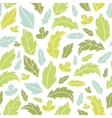 Leaves silhouettes seamless pattern background vector image