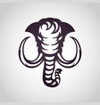 mammoth logo icon vector image