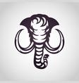 mammoth logo icon vector image vector image