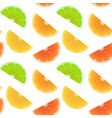seamless endless pattern with print fresh vector image vector image