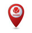 tennis3 REDpointer vector image vector image