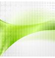 Wavy tech abstract backdrop vector image