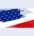 abstract american flag background design vector image vector image
