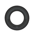 car tire isolated vector image