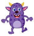Cute monster cartoon vector image vector image