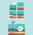 how to petroleum fossil fuel was form vector image vector image
