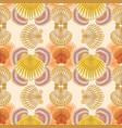 seashell marine pattern vector image vector image