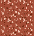 terrazzo seamless pattern texture of vector image vector image