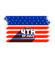 4th july independence day celebration vector image vector image