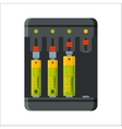 Charger battery energy electricity tool vector image vector image