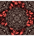 Colorful ornamental background vector image vector image