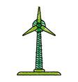 ecology cartoon doodle vector image