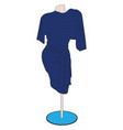 image of fashionable dress vector image