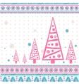 Vintage Christmas set of design elements vector image