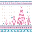 Vintage Christmas set of design elements vector image vector image