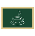 a cup coffee or tea sketch vector image