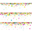 Banners set with geometric pattern vector image