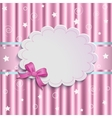 gentle pink background vector image vector image