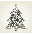 House a pine vector | Price: 1 Credit (USD $1)