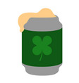 isolated beer can icon vector image vector image
