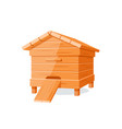beehive isolated on white background vector image vector image