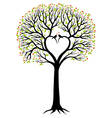 Heart tree vector | Price: 1 Credit (USD $1)