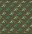 holiday seamless pattern with fir tree branches vector image vector image