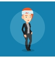 Man with injured head vector image vector image