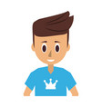 man young adult icon image vector image
