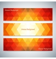 Modern Colorful Set Of Banners For Your vector image